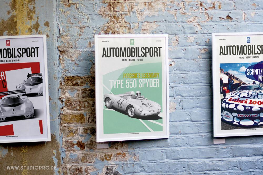 Auszeichnung für die Werbeagentur Studiopro aus Düren und das Magazin AUTOMOBILPORT