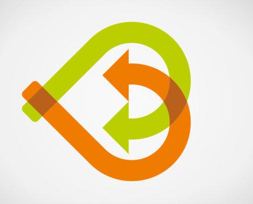Logoentwicklung und Design für Brocker Logistik, ein professionelles Logistik Unternehmen aus Korschenbroich. Brocker Logistik leistet Kommissionierung, Logistik, Lagerung und Handel mit Obst und Gemüse aus einer Hand.