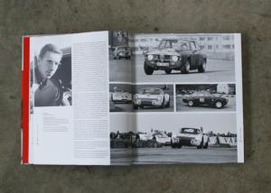 Buchdesign — Rennfahrer Rolf Stommelen