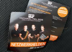 Print-Design, Corporate Identity Design, Flyer und Broschüren